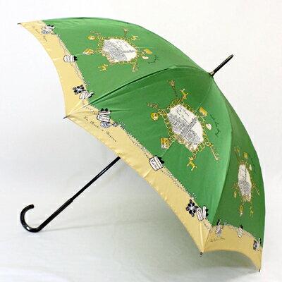 【楽ギフ_包装】mimi pinsonミミ・パイソン「MPチェーン」婦人用軽量雨傘手開き