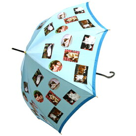 婦人用雨傘マンハッタナーズ傘MASTERPIELE COLLECTION「名画収集」レディースワンタッチ雨傘