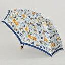 マンハッタナーズ傘「ハートとピースHeart and Peace」レディース 婦人用 雨傘 折り畳み ミニ ブランド 猫 ハ…