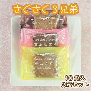 お歳暮 お年賀 ギフト さくさく 10入 2箱セット 菓子庵石川 贈答用 お菓子 セット お土産 焼き菓子 送料無料
