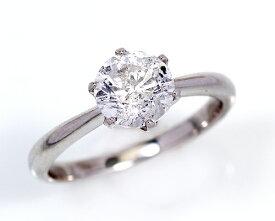 2.0ct プラチナ ダイヤモンド 6爪 リング (Hカラー・I1クラス・Fairカット) 鑑定書 エンゲージリング 婚約指輪 ダイヤ 指輪 天然ダイヤ 結婚 婚約 女性用 レディース ブライダルジュエリー ファッション