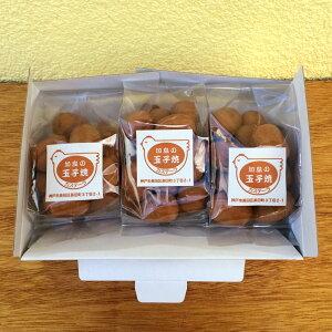 加島の玉子焼 3パックセット(一口カステラのプチギフト)