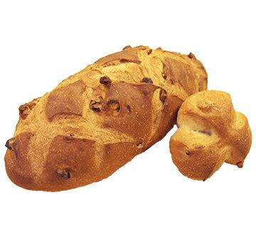【予約商品1】ISM (イズム) 冷凍パン生地 クルミパン 250g×24入 【冷凍】