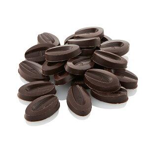(季節商品)ヴァローナ チョコレート フェーブ型 エクアトリアル ノワール チョコレート 55% 200g 業務用 (夏季冷蔵) 手作りバレンタイン