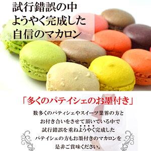 一流パティシエも認める美味しいMマカロンショコラ30個入り【冷凍】