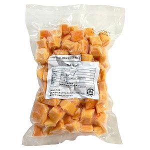 (PB)丸菱 アップルマンゴー冷凍ダイスカット マハチャノック種 500g(冷凍)