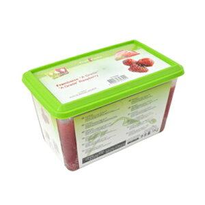 【冷凍】キャップフリュイ(capfruit)フランボアーズピューレ加糖1kg