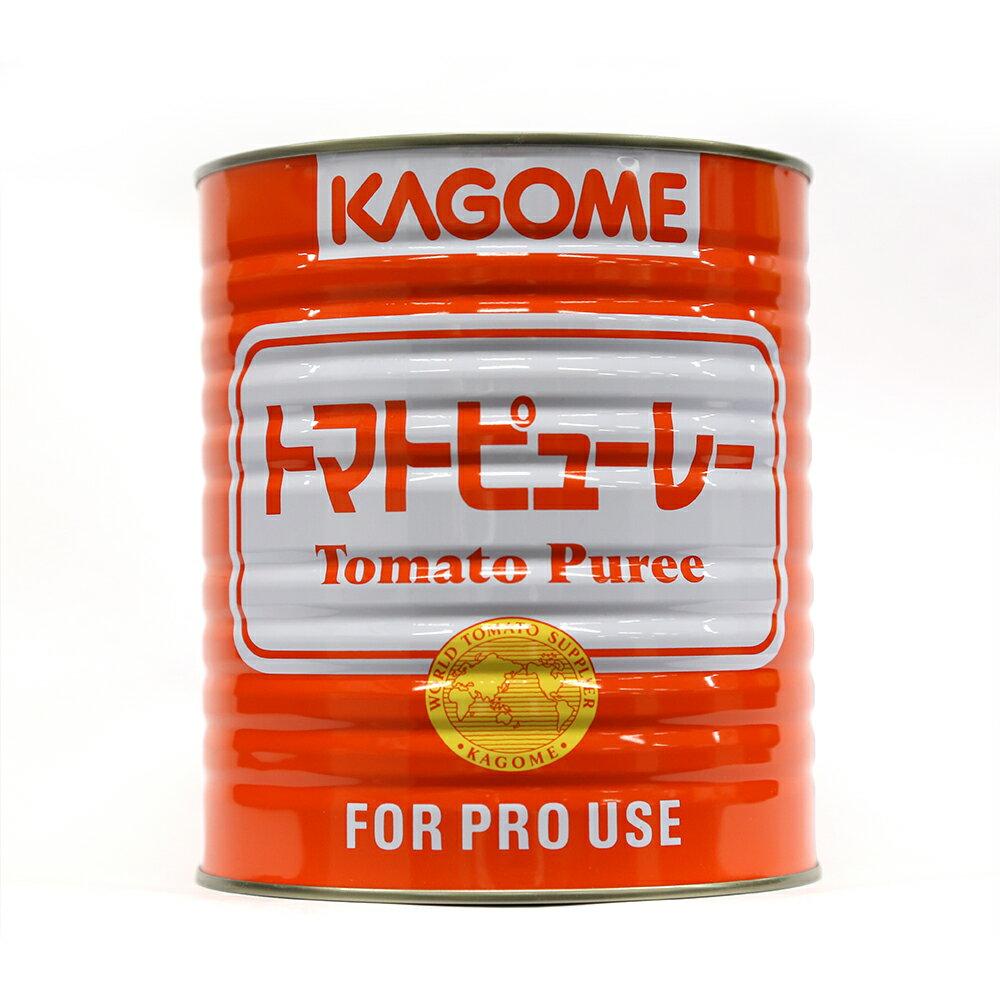 \マラソン期間中はP5倍/KAGOME カゴメ トマトピューレー トマト缶詰 3000g【常温】