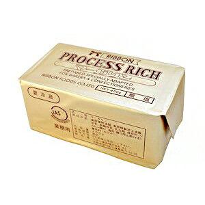 リボン食品 プロセスリッチ 無塩マーガリン 450g【冷蔵】 クーポン