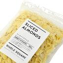 アメリカ産 アーモンドスライス (生) 300g【チャック袋】【常温】