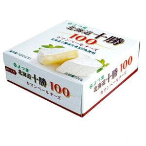 【お取り寄せ商品】よつ葉乳業 北海道十勝100 カマンベールチーズ 100g 【冷蔵】