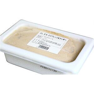 森永乳業 業務用アイスクリーム EX エクセレント エスプレッソ&クッキー 2000ml(冷凍)
