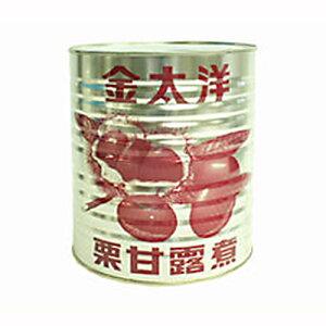 金太洋 栗甘露煮 5級 クラッシュタイプ 1号缶 3500g(常温)