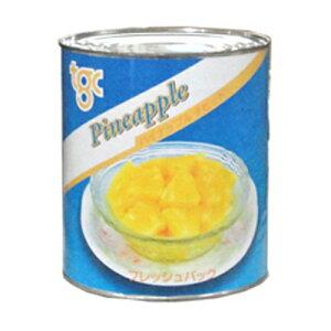 【エントリーで最大600Pプレゼント】インドネシア産 パイナップル チビット 1号缶 3030g【常温】