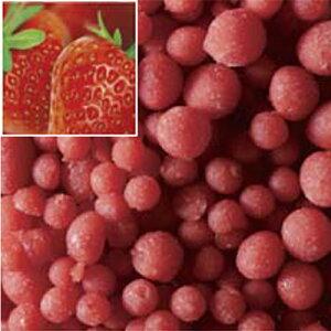 【冷凍】ラビフリュイ(RAVIFRUIT)グランドフリュイフレーズ(いちご)ピューレ加糖(粒状)1kg