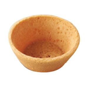 リボン食品 クッキータルトフラット 中 M CT-2F 焼成済業務用クッキー生地タルト 168個(常温)