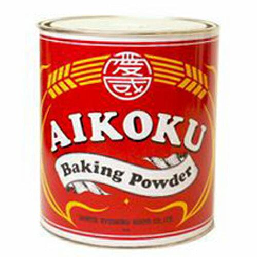 愛国ベーキングパウダー 赤缶 2kg 【常温】