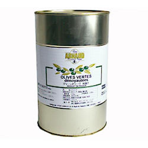 アールノー社 グリーンオリーブ 種抜き 2.2kg 約650粒 【常温】