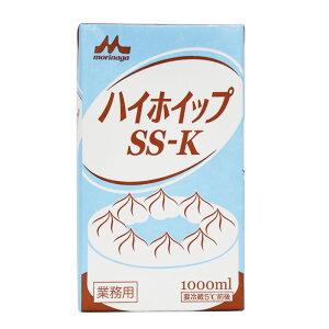 (お取り寄せ商品)森永乳業 ハイホップSS-K コンパウンドクリーム 1000ml×12本 1L 業務用(冷蔵)
