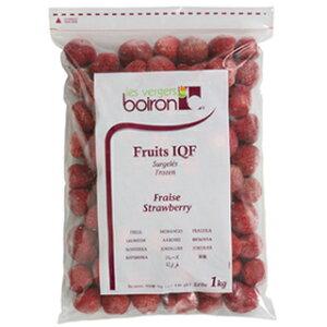 boiron (ボワロン)いちご フレーズホール 1kg (冷凍)