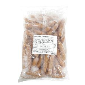 林兼 粗挽きポークソーセージ(ウィンナー)1kg 1000g (1本約20g)(冷凍)