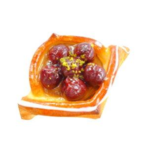 イズム 冷凍パン生地 デニッシュ9.5角 43g×150個(冷凍)