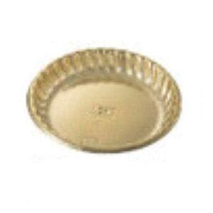 フルールゴールドケーキトレー NO150012 外寸86×底寸65×高さ12mm 250枚【常温】
