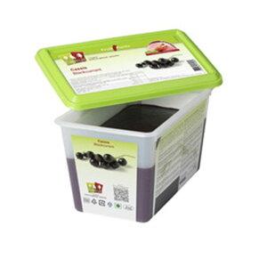 capfruit (キャップフリュイ) 加糖 カシスピューレ ノワデブルゴーニュ 1kg(冷凍)