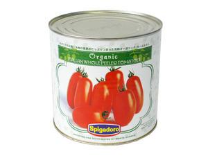 モンテベッロ 有機ホールトマト 2550g 【常温】
