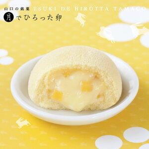 月でひろった卵 6個入 お土産 和菓子 山口 つきたま 果子乃季