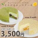【送料無料】ほんのり大人リッチな気分★とろけるムースケーキ(2種類セット)