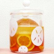 蓮の透かし模様がおしゃれな浅漬鉢スカシの漬物器<ガラス工房CRAFTHOUSE>