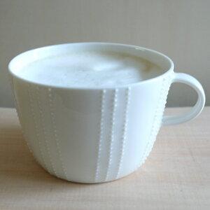 作家 伊藤綾野 マグカップ dot -mug- 白 磁器
