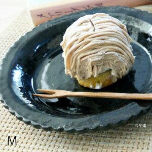 作家 正野蕗子 フリルの皿(中) 陶器