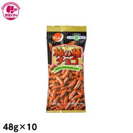 【Eサイズ 柿の種チョコ 48g×10】 でん六 保冷 おかし お菓子 おやつ 駄菓子 こども会 イベント 景品