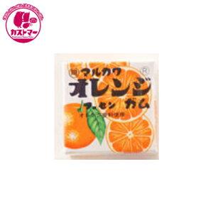 【オレンジマーブルガム 6粒×33個 】 丸川  おかし お菓子 おやつ 駄菓子 こども会 イベント パーティ 景品 ガム