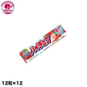 【ハイチュウ ストロベリー 12粒×12】 森永製菓 おかし お菓子 おやつ 駄菓子 こども会 イベント 景品