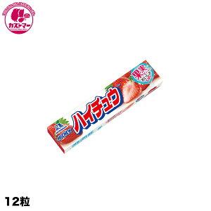 【ハイチュウ ストロベリー 12粒】 森永製菓  ひとつ おかし お菓子 おやつ 駄菓子 こども会 イベント 景品