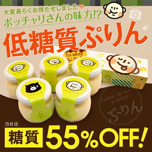 お歳暮 送料無料 糖質制限・低糖質プリン5個入り  濃...