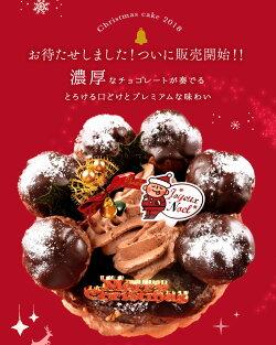 チョコパリ・ブレストクリスマスケーキ