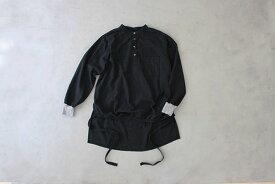 【受注商品】motone エンゲイシャツ(黒×灰(グレー))S・M・L [7日〜10日後の発送]