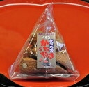 まきびし くるみ 60g かたやき(堅焼き)せんべい 日本一堅い煎餅 TV・雑誌でも紹介 伊賀 老舗 土産・おみやげにもおすすめ 和菓子(お…