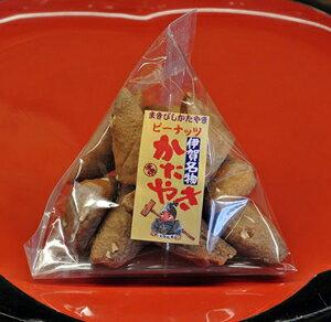 まきびし ピーナッツ 60g かたやき(堅焼き)せんべい 日本一堅い煎餅 TV・雑誌でも紹介 伊賀 老舗 土産・おみやげにもおすすめ 和菓子(お菓子・焼き菓子) 父の日 プレゼント・ギフト 伊賀菓庵山本