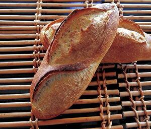 焼立て無添加パン バタールクール パリパリ・もちもち 焼きたて天然酵母パン(バタール・フランスパン・バゲット)チーズフォンデュ・フレンチトースト・ラスクにもお勧め バター・ジャム
