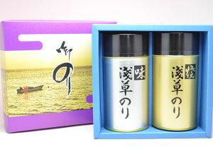 浅草名物 おつまみ海苔 2缶 詰合わせ 海苔 味付け ギフトセット(小)