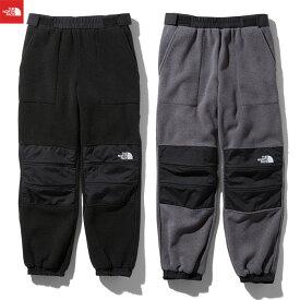 【スプリングフェア】【あす楽】【即納】ノースフェイス フリース デナリスリップオンパンツ メンズ ブラック ミックスグレー THE NORTH FACE Denali Slip-on pants NB81956