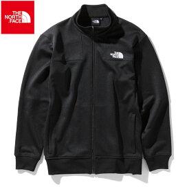 ノースフェイス ジャージジャケット メンズ 黒 ブラック Jersey Jacket THE NORTH FACE NT12050