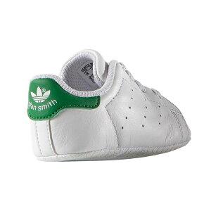 アディダスオリジナルススタンスミスクリブスニーカーベビーシューズファーストシューズ赤ちゃんお祝いギフトホワイトグリーン白緑adidasOriginalsSTANSMITHCRIBB24101