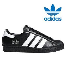 送料無料 アディダス オリジナルス スーパースター 80S メンズ ウィメンズ レディース スニーカー レザー シューズ 靴 ブラック ホワイト adidas originals Super Star BD7363 2019春夏新作
