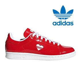 送料無料 アディダス オリジナルス スタンスミス ハートマーク ウィメンズ レディース メンズ スニーカー レザー シューズ 靴 ホワイト レッド adidas originals STAN SMITH W G28136 2019春夏新作